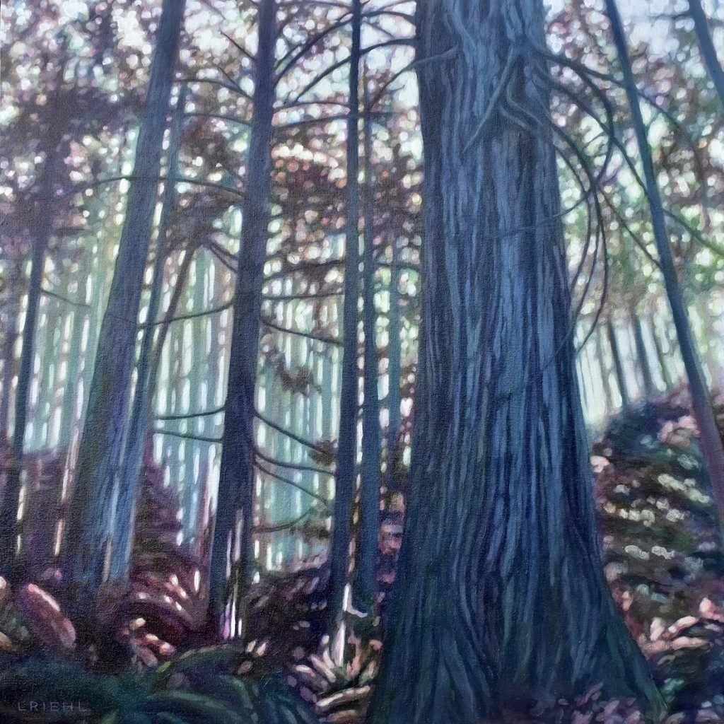Painting of Forest
