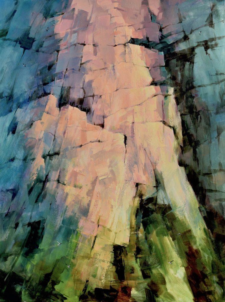 Painting of Cape Hay, John Stuart Pryce