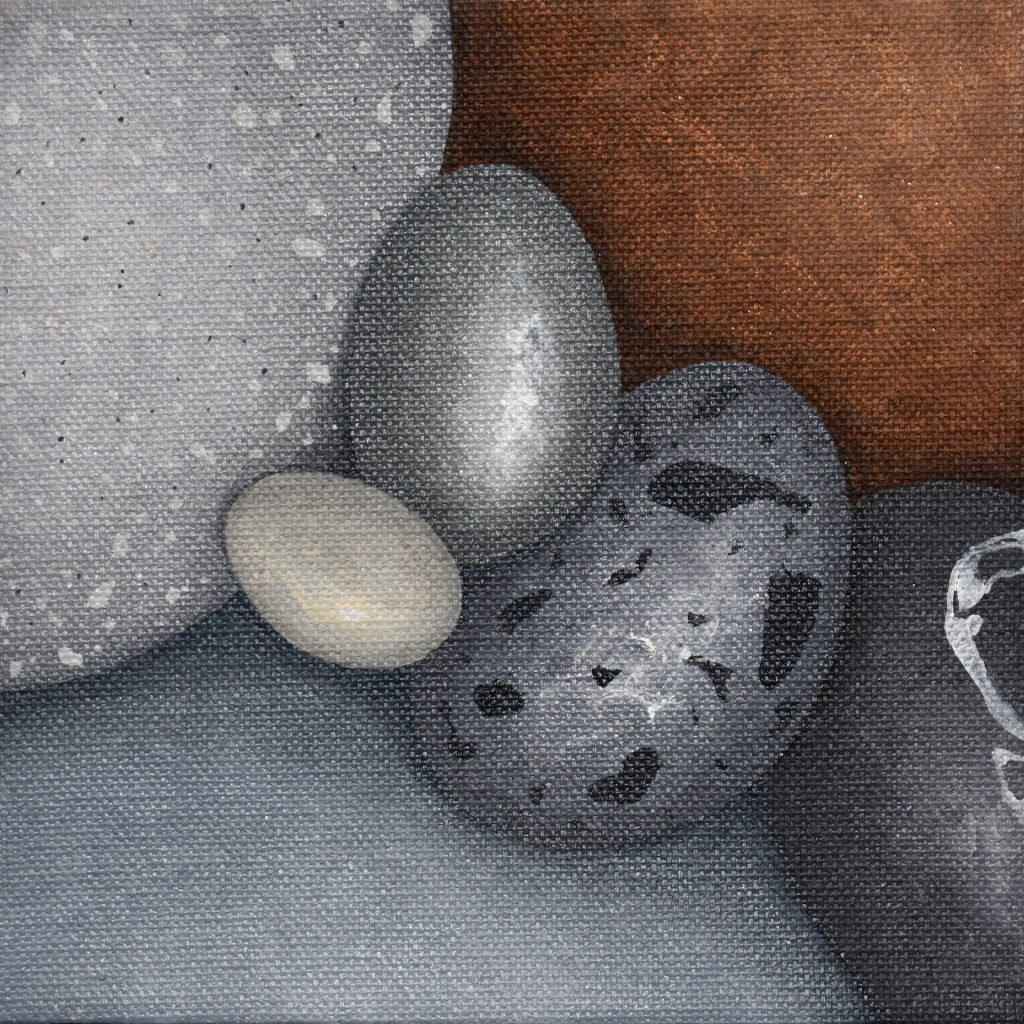 Small Pebbles Painting #552_Kristina Boardman