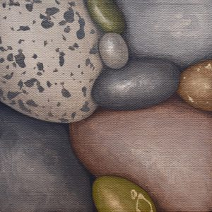 Small Pebbles Painting 553_Kristina Boardman