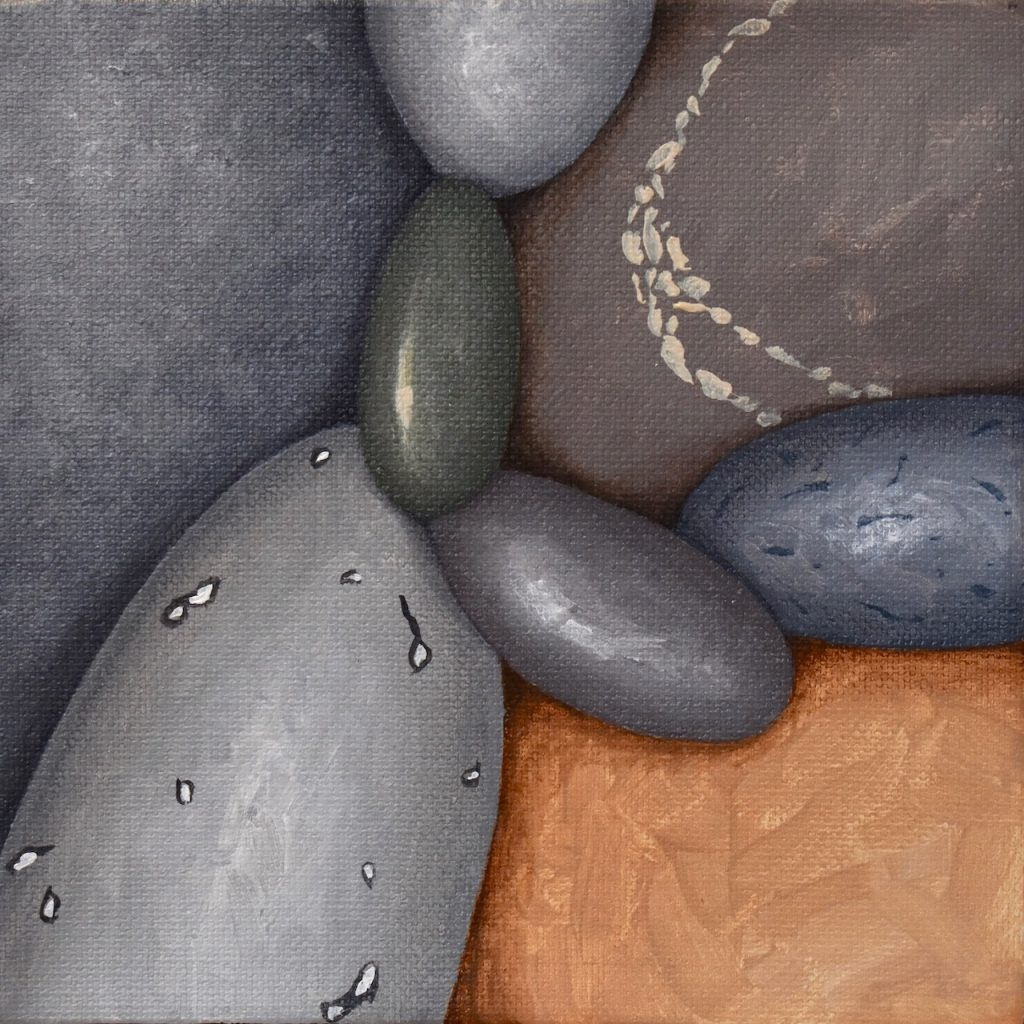 Small Pebbles Painting 560_Kristina Boadman