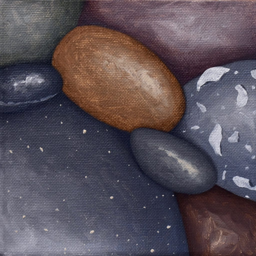 Small Pebbles Painting 565_Kristina Boardman