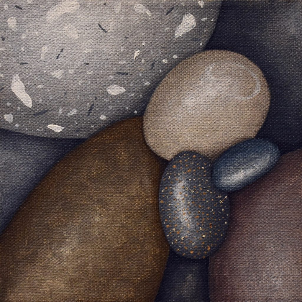 Small Pebbles Painting 567_Kristina Boardman