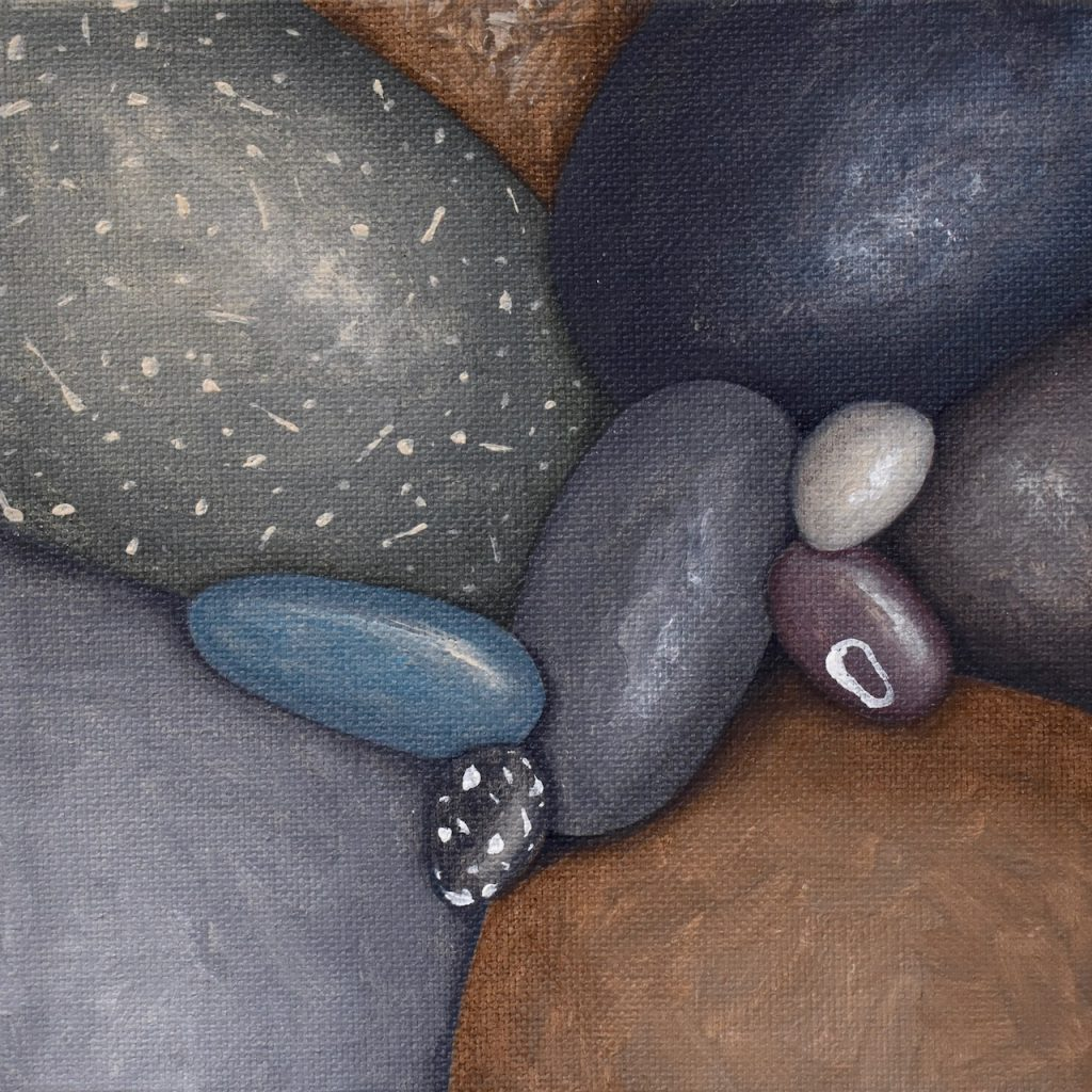 Small Pebbles Painting 568_Kristina Boardman