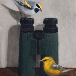 Yellow Warblers Oil Painting