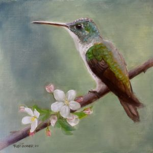 Rose Tanner, Spring's Little Promise, 10 x 10,