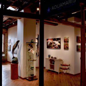 Aquamaris Art Gallery in Duncan, BC